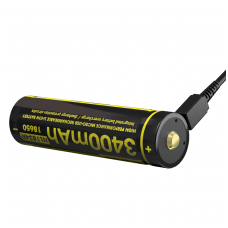 Nitecore NL1834R 18650 Li-ion Battery 3.6V 3400mAh