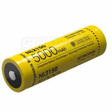 Nitecore NL2150 21700 Li-ion Battery 3,6V 5000mAh