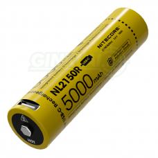 Nitecore NL2150R 21700 Li-ion Battery 3,6V 5000mAh