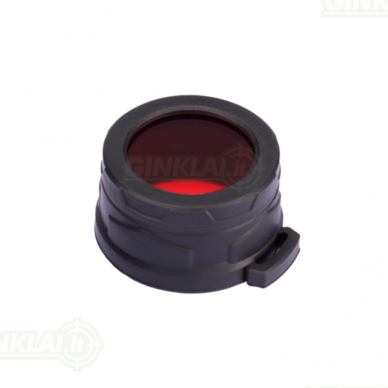 Nitecore filtras prožektoriui NFR40