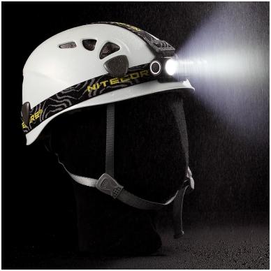 Nitecore HC30 prožektorius ant galvos 4