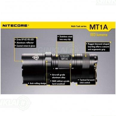 Nitecore MT1A prožektorius 2