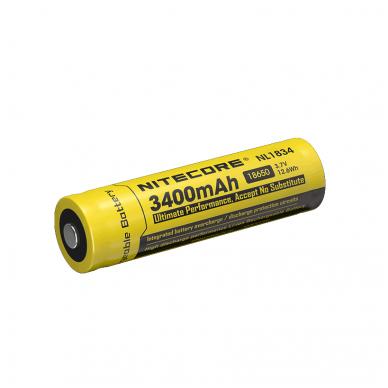 Nitecore NL1834 18650 Li-ion Battery 3.7V 3400mAh