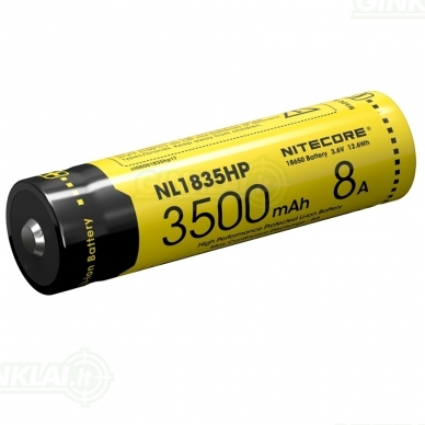 Nitecore NL1835HP 18650 Li-ion Battery 3,6V 3500mAh