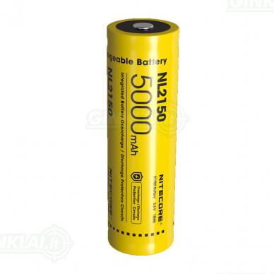Nitecore NL2150 21700 Li-ion Battery 3,6V 5000mAh 3