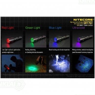 Nitecore SRT7GT prožektorius 10