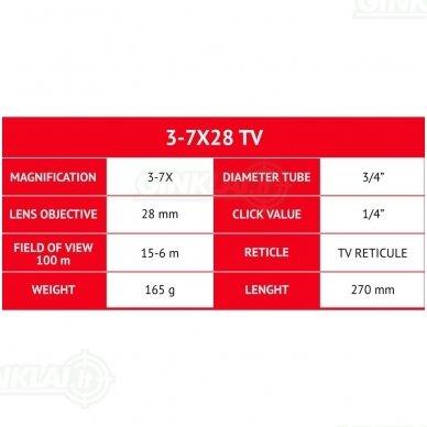 Optinis taikiklis Gamo 3-7X28TV 3