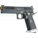 Pistoletas BUL SAS II SL AIR Black 9x19