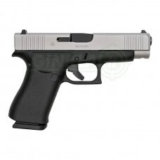 Pistoletas Glock 48 FS Silver Slide, 9x19