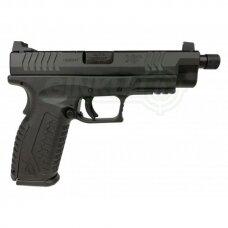 """Pistoletas HS XDM-9 4,5"""" su sriegiu kal. 9x19 Juodas"""
