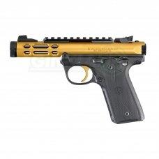 """Pistoletas Ruger MK IV 22/45 Lite Gold 4,4"""", 22LR 43926"""