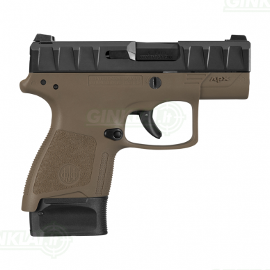 Pistoletas Beretta APX Carry FDE, 9x19 2