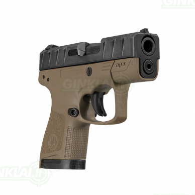 Pistoletas Beretta APX Carry FDE, 9x19 8