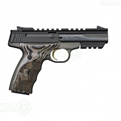 Pistoletas Buck Mark Micro CNTR BLK LBL, ADJ S kal. 22LR 2