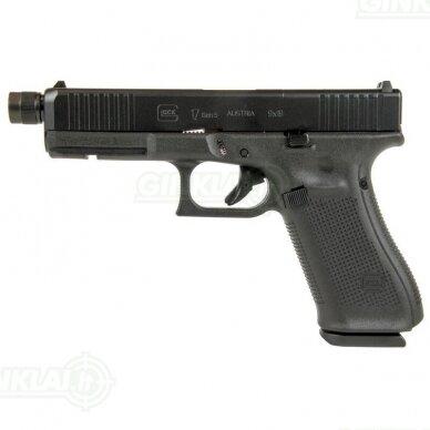 Pistoletas Glock 17 Gen5 MOS FS Threaded, 9x19