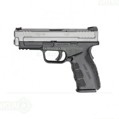 "Pistoletas HS 9 G2 SS 4.0"", 9x19"