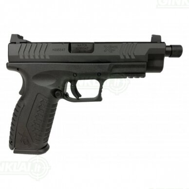 """Pistoletas HS XDM-9 4,5"""" su sriegiu kal. 9x19 Juodas 2"""