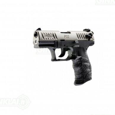 Pistoletas P22Q Nickel .22 LR 2