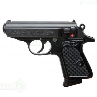 Pistoletas Walther PPK Black, 9x17