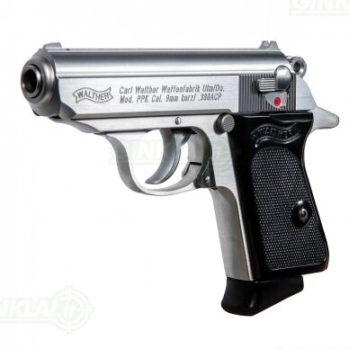 Pistoletas Walther PPK Stainless, 9x17 2