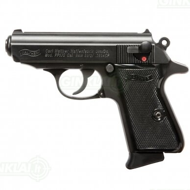 Pistoletas Walther PPK/S Black, 9x17