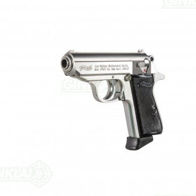 Pistoletas Walther PPK/S Stainless, 9x17 2