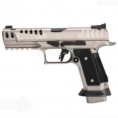 """Pistoletas Walther PPQ Q5 Match Steel Frame Black Tie 5"""", 9x19"""