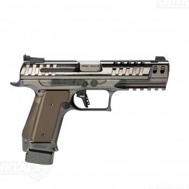 "Pistoletas Walther PPQ Q5 Match Steel Frame Black Diamond 5"", 9x19 2"