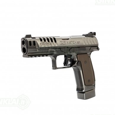 "Pistoletas Walther PPQ Q5 Match Steel Frame Black Diamond 5"", 9x19 3"