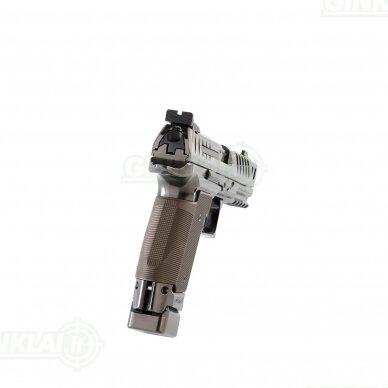 "Pistoletas Walther PPQ Q5 Match Steel Frame Black Diamond 5"", 9x19 4"