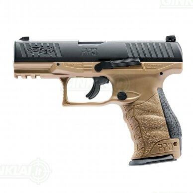 Pistoletas Walther T4E PPQ 7,5J 43 kal. FDE