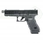 Pneumatinis pistoletas Glock 17 4,5mm Pellet/BBs su sriegiu