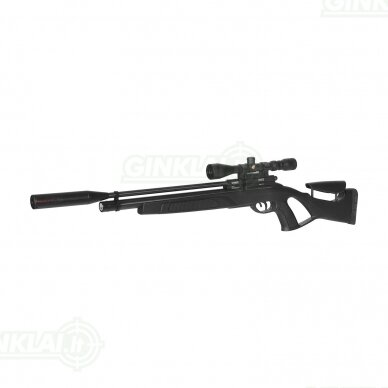 Pneumatinis PCP šautuvas Coyote Black Whisper 4,5 mm 27J