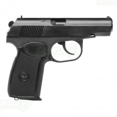 Pneumatinis pistoletas Baikal MP-654 K-24 Black 4,5 mm 2