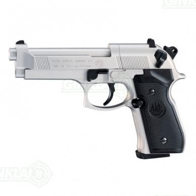 Pneumatinis pistoletas Beretta M 92 FS Satin Nickel 4,5 mm Pellet