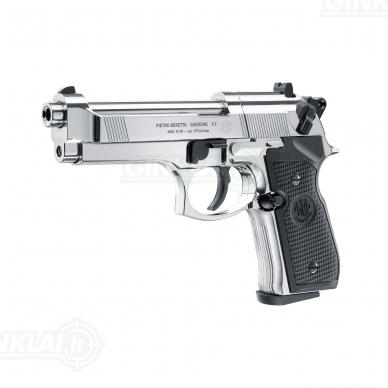 Pneumatinis pistoletas Beretta M92FS 4,5mm Pellet Chrome 2