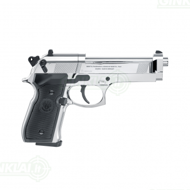 Pneumatinis pistoletas Beretta M92FS 4,5mm Pellet Chrome 3