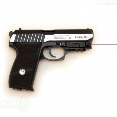 Pneumatinis pistoletas Borner Phanter 801 4,5mm BBs 2