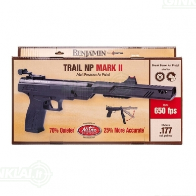 Pneumatinis pistoletas Crosman Trail Mark II, kal. 4,5 mm 10