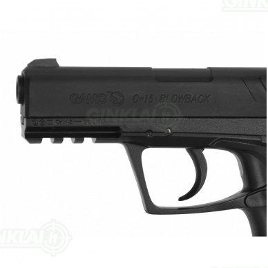 Pneumatinis pistoletas Gamo C-15 BLOWBACK, kal. 4,5 mm 4