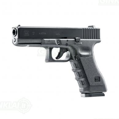 Pneumatinis pistoletas Glock 17 4,5 mm BBs 2