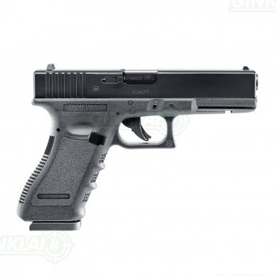 Pneumatinis pistoletas Glock 17 4,5mm Pellet 3