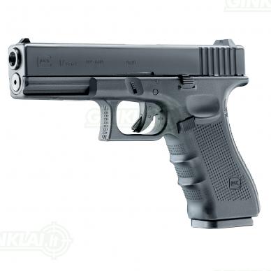 Pneumatinis pistoletas Glock 17 Gen4 4,5mm BBs 2