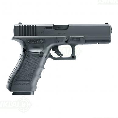 Pneumatinis pistoletas Glock 17 Gen4 4,5mm BBs 3