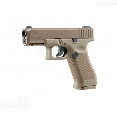 Pneumatinis pistoletas Glock 19X 4,5mm BBs non Blowback 2