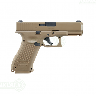 Pneumatinis pistoletas Glock 19X 4,5mm BBs non Blowback 3