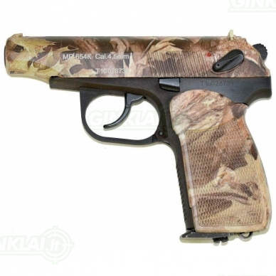 Pneumatinis pistoletas MP-654 K-23 Camo 4,5mm