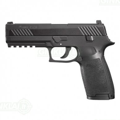 Pneumatinis pistoletas Sig Sauer P320 Black 4,5 mm Pellet