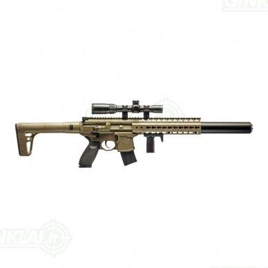 Pneumatinis šautuvas Sig MCX FDE 4,5 mm Pellet su optika