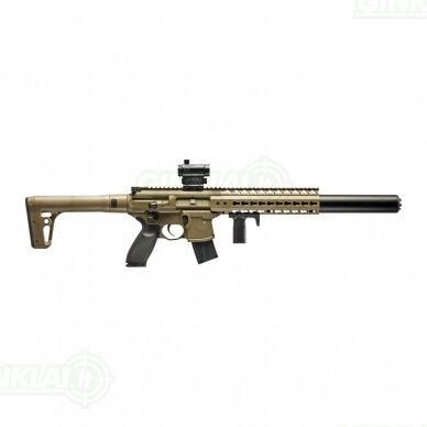 Pneumatinis šautuvas Sig MCX FDE 4,5 mm Pellet Red Dot
